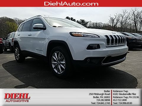 New 2017 Jeep Cherokee Limited 4WD