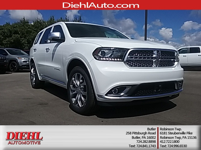 new 2017 dodge durango citadel 4d sport utility in diehl of butler d170811 diehl automotive group. Black Bedroom Furniture Sets. Home Design Ideas