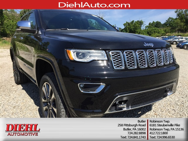 New 2017 Jeep Grand Cherokee Overland 4D Sport Utility in Diehl of