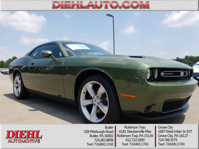 new 2018 dodge challenger r t 2d coupe in diehl of butler d180601